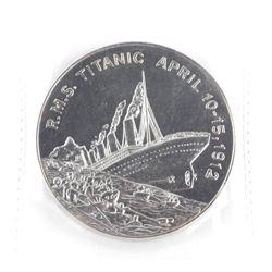 R.M.S Titanic April 10-15 1912 - 5 Dollars.