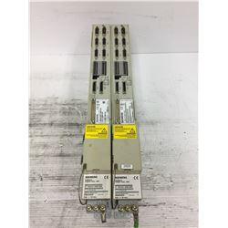 (2) SIEMENS 6SN1162-1AA00-0AA0 SIMODRIVE W/ 6SN1115-0BA11-0AA1 CARD