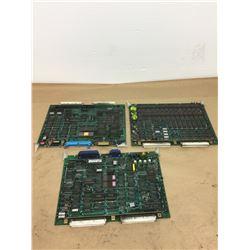 (3) MITSUBISHI FX31C CIRCUIT BOARD