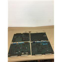 (4) MITSUBISHI FX52A CIRCUIT BOARDS