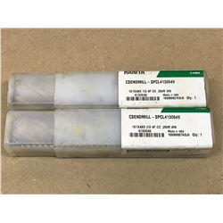 (2) WIDIA HANITA SPLCL4130649 ENDMILL