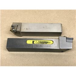 (2) MISC.  LATHE TOOL HOLDER *SEE PICS FOR PART #*