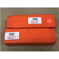 (2) MICRO 100 QTH-605 TOOL HOLDER