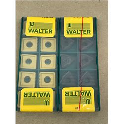 (20) WALTER MISC. CARBIDE INSERT *SEE PICS FOR PART #*