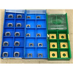 (26) MISC. CARBIDE INSERT *SEE PICS FOR PART #*