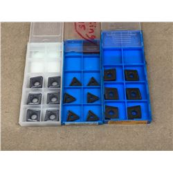 (18) MISC. CARBIDE INSERT *SEE PICS FOR PART #*