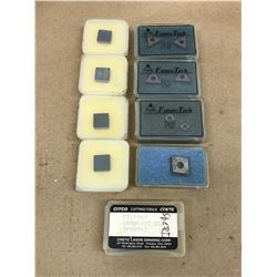 (13) MISC. CARBIDE INSERT *SEE PICS FOR PART #*