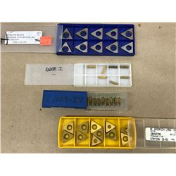 (37) MISC. CARBIDE INSERT *SEE PICS FOR PART #*
