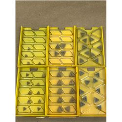 (47) MISC. CARBIDE INSERT *SEE PICS FOR PART #*