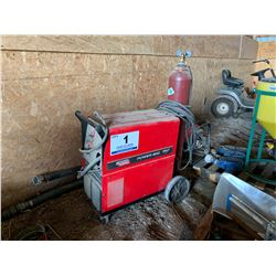 LINCOLN POWER MIG 215 ELECTRIC WELDER
