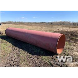 "42"" X 19 FT. HD RED PIPE"