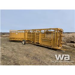 TUFF LIVESTOCK SQUEEZE AND CROWDING TUB