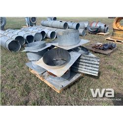 QUANTITY OF AREATION DUCTING