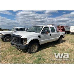2009 FORD F250 CREWCAB PICKUP