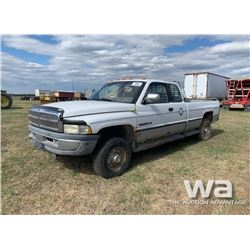 1995 DODGE 2500 E-CAB PICKUP