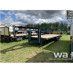 2008 TRAILTECH 32 FT. TRIDEM FLATDECK TRAILER