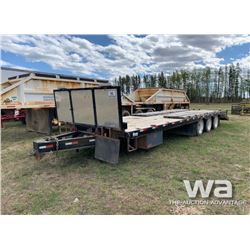 RENN 9 X 28 FT. 3 AXLE EQUIPMENT TRAILER