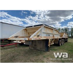 2000 DECAP SUPER B CLAM DUMP GRAVEL TRAILERS