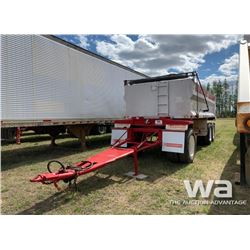 ARNES ALUMINUM 20 FT. TRIDEM GRAVEL TRAILER