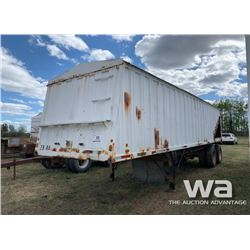 1984 LODEKING 31 FT. T/A GRAIN TRAILER