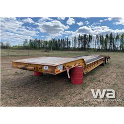 9 FT. WIDE T/A LOWBED TRAILER