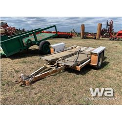 10 FT. S/A PINTLE HITCH TRAILER