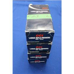 CCI, No. 200 Large Rifle Primers - 4 Boxes (3900)