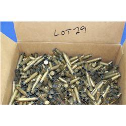 Winchester Box Full of 303 British Brass