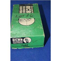 R.C.B.S. 7 x 57 Die Set