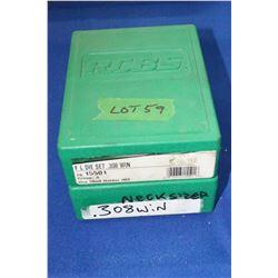 R.C.B.S. 308 Winchester Reloading Dies & R.C.B.S. 308 Neck Sizer