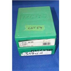 R.C.B.S. 308 Winchester Reloading Dies & R.C.B.S. 308 Neck Sizer