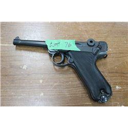 P. 08 177 caliber Pellet Gun, Repeater w/Magazine - Requires CO2