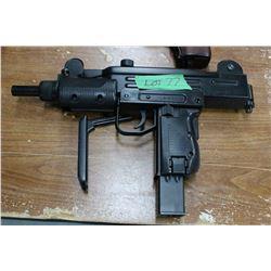 Mini Uzi 177 caliber Semi-Automatic Pellet Gun w/Magazine - Requires CO2
