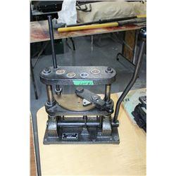 Metallic 11 - 12 gauge Shot Shell Press