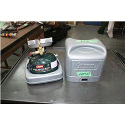 Coleman Gas Camp Stove, Model 508A700C, 8500 BTU w/Plastic Case