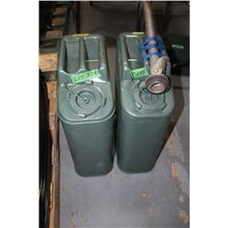 2 Military Jerry Cans