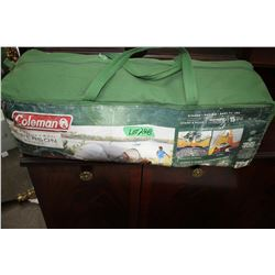 Coleman 6 Person Tent w/Tent Pegs, Poles & Carry Bag