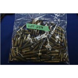 Bag of Live Rounds (45 Colt), 38-55 Win), (44 WCF), (32 S & W), (22 Long), (8mm Dominion), (25-20 Do