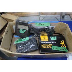 Box w/Weatherby SA-08-2GP Choke Kit; Browning 12 ga. Choke Kit; Case Guard & Choke Tube