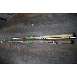 2 Great 1970's Fishing Rods (1 is a Montague - 7 1/2' True Temper - most likely a salmon
