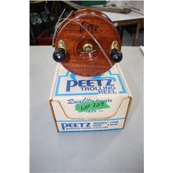 Peetz Trolling Reel - Made in Victoria, B.C.