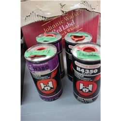 1 1/2 Cans of H380 Powder Plus 2 Near Full Tins of 4350 Rifle Powder