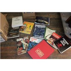 Box of Gun Books