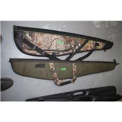 Two Gun Cases - Camo - In Good Condition