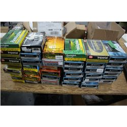Box Lot of 38 Boxes of Mixed Brass:  30.06; 308; 223; 7mm 08; 270Win; 243Win & 303 British