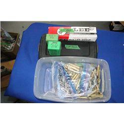 Lee 303 Bullet Mold; 200 Deprimed & Clean 303 Brass & 138 Sierra 174/180 grain Bullets