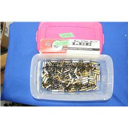 Lee 38 Spl; 38 Colt; 357 Mag. Bullet Mold & Over (100) 38 Spl Brass