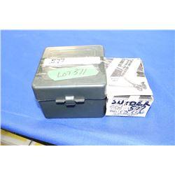 20 Live Rnds of Hand Loaded 577 Snider Black Powder w/Load Info & a Lyman 577 Snider Bullet Mold