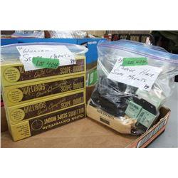 Bag of Williams Quick Converter Scope Mounts & a Bag of Parker Hale Scope Mounts