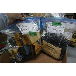 Bag of Weaver Scope Side Mounts & a Bag of Weaver Scope Bases & Rings